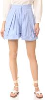 Vika Gazinskaya Pleated Mini Shorts
