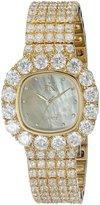 Adee Kaye Women's AK26N-LG Bijou MOP Analog Display Quartz Gold Watch