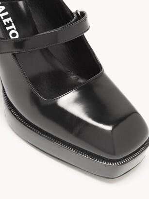 Nodaleto Bulla Babies Patent-leather Mary Jane Pumps - Black