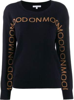 Patrizia Pepe Mood On Moon crew neck sweater