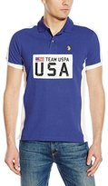 U.S. Polo Assn. Men's Sporty Authentic Slim Fit Pique Polo Shirt