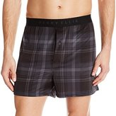 Perry Ellis Men's Techno Plaid Boxer
