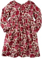 Pink Chicken Emmy Dress (Toddler/Kid) - White Vine Floral-2 Years
