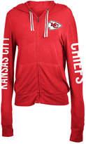 5th & Ocean Women's Kansas City Chiefs Full-Zip Hooded Sweatshirt