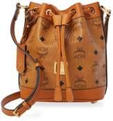 MCM Women's Printed Leather Bucket Bag