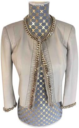 Elisabetta Franchi Leather Jacket for Women