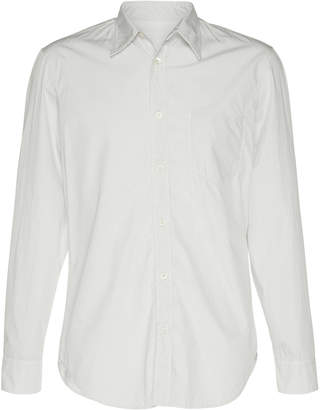 Maison Margiela Slim-Fit Cotton-Poplin Button-Up Shirt