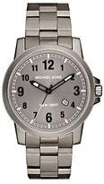 Michael Kors Paxton Titanium Three-Link Bracelet Watch