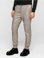 Calvin Klein Jeans Modern Surplus Leather Flight Pants