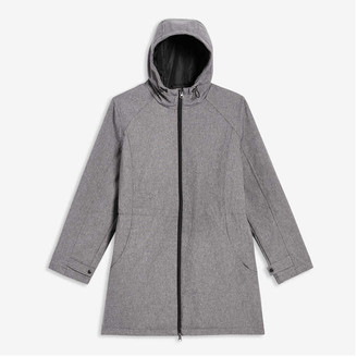 Joe Fresh Women+ Active Coat, Light Grey Mix (Size 3X)