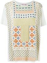 Isabela Capeto print embroidered blouse