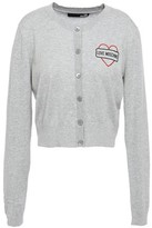 Love Moschino Printed Cotton Cardigan