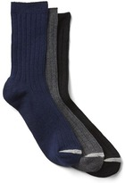 Gap Ribbed dress socks (3-pack)