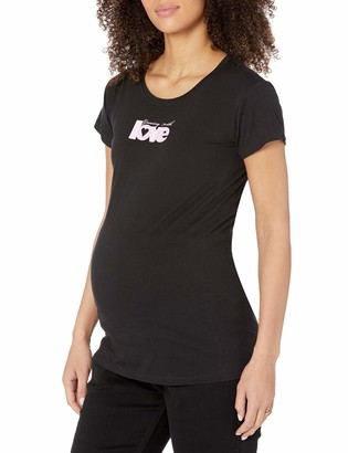 Everly Grey Women's Maternity Growing with Love Tee