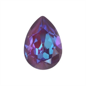 Swarovski Crystal, 4320 Pear Fancy Stone 18x13mm, 1 Piece, Crystal Burgundy DeLite