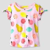 Cat & Jack Toddler Girls' T-Shirt Cat & Jack - Peppermint Stick