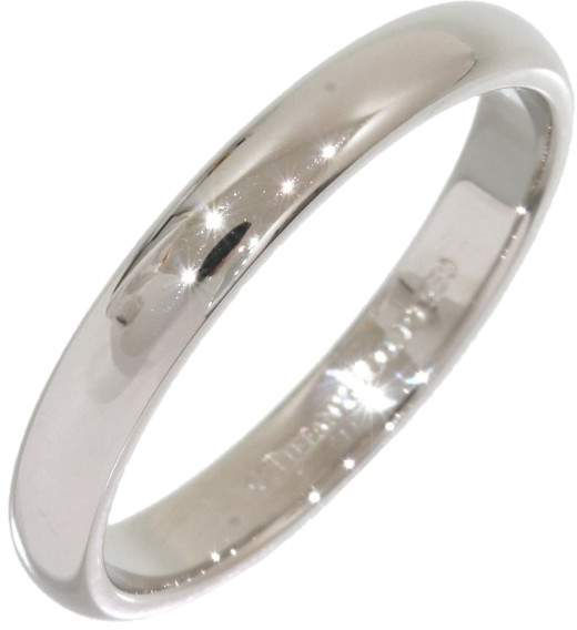 Tiffany & Co. Platinum Pt950 Band Ring Size 7.5