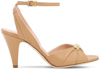 Alberta Ferretti 80mm Leather Sandals