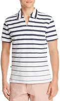 Oobe Circuit Striped Regular Fit Polo Shirt