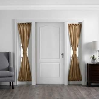 "Elrene Home Fashions Colette Faux Silk Side Door Window Panel - 28"" x 72"""