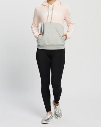 adidas Essentials Colour-Block Fleece Hoodie