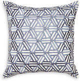 Jonathan Adler Interlocking Satin-Stitch Pillow