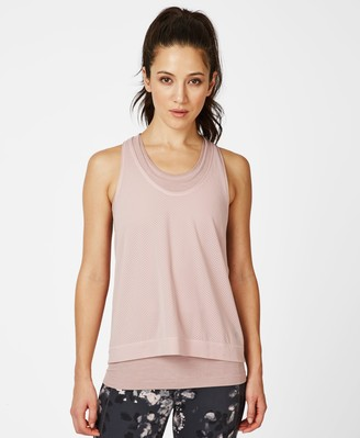 Sweaty Betty Double Time Seamless Workout Tank