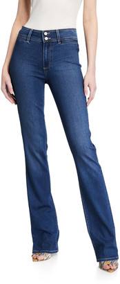 Paige Manhattan High-Rise Boot-Cut Jeans
