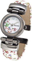 JCPenney Decree Fashion Floral Bangle Watch