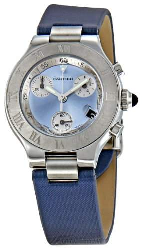 Cartier Women's W1020013 Chronoscaph Sunburst Dial Watch