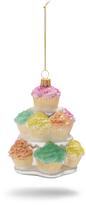 Sur La Table Cupcake Tower Glass Ornament