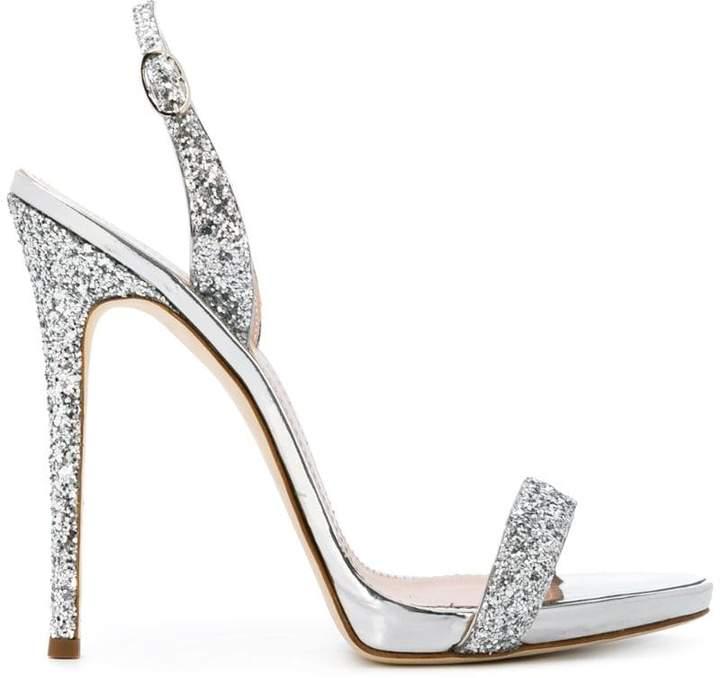 Giuseppe Zanotti Design Sofia glitter sandals