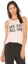 Spiritual Gangster We Are All One Studio Tank in Blush. - size L (also in S)