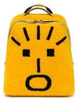 Fendi Faces Shearling Backpack