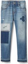Gap 1969 Rip & Repair Girlfriend Jeans