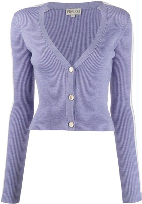 Fiorucci Long-Sleeve Fitted Cardigan