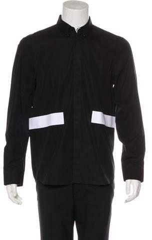 Givenchy Bar Woven Shirt w/ Tags