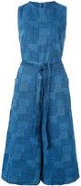 YMC waist-tie cropped jumpsuit
