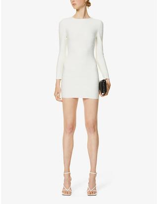 Herve Leger Bandage stretch-knit mini dress