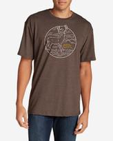Eddie Bauer Men's Graphic T-Shirt - White Tail