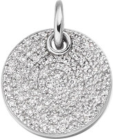 Monica Vinader Ava sterling silver and pavé set diamond necklace
