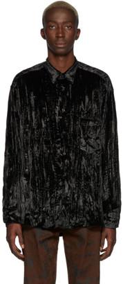 Cmmn Swdn Black Velvet Cedric Shirt