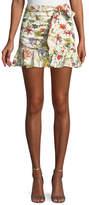 Parker Lieanna Floral-Print Skirt