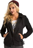 Metal Mulisha Metal Muliha Women' Twill Full Zip Forfeit Jacket-mall