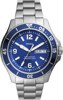 Fossil Men Fb-02 Stainless Steel Bracelet Watch 48mm