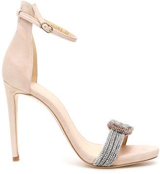 Alexandre Birman Bicolor Crystal Sizzle Sandals