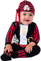 Rubie's Costume Co Black & Red Pirate Dress-Up Set - Infant