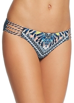 Red Carter Graphic Print Classic Bikini Bottom
