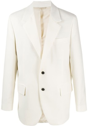 Acne Studios Single-Breasted Tailored Blazer