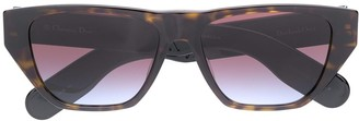 Christian Dior InsideOut2 rectangular-frame sunglasses